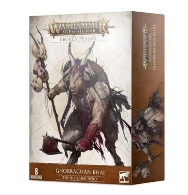 Broken Realms: Ghorraghan Khai – Die Schlächterherde - Beasts of Chaos - Warhammer Age of Sigmar - Games Workshop