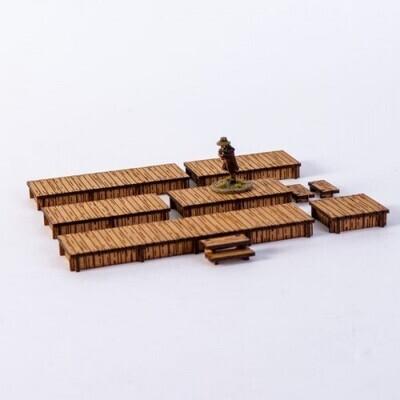 New Timber Long Boardwalks - 4Ground