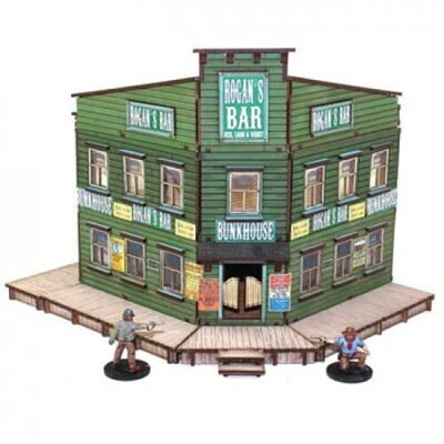 Rogan's Bar and Bunkhouse Collection - 4Ground