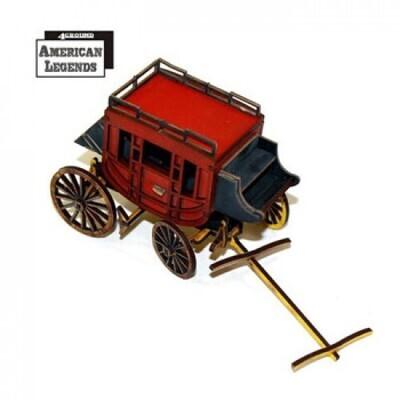 Stagecoach Postkutsche- 4Ground