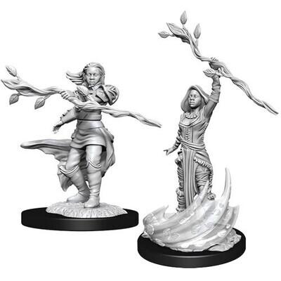 D&D Nolzur's Marvelous Miniatures - Human Druid Female