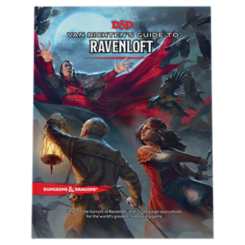 Dungeons & Dragons Game Master's Guide D&D - Van Richten's Guide to Ravenloft HC - EN