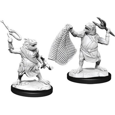 D&D Nolzur's Marvelous Miniatures - Kuo-Toa & Kuo-Toa Whip