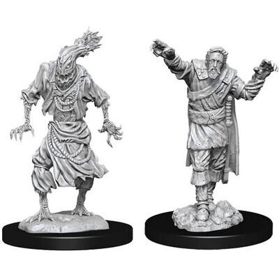 D&D Nolzur's Marvelous Miniatures - Scarecrow & Stone Cursed