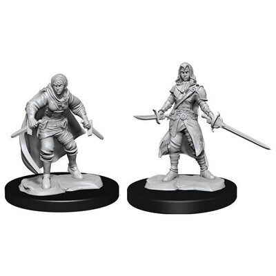 D&D Nolzur's Marvelous Miniatures - Female Half-Elf Rogue