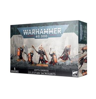 Celestia Sacresantis Celestian Sacresants - Adepta Sororitas - Warhammer 40.000 - Games Workshop