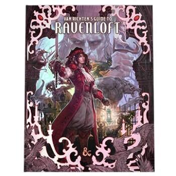 Dungeons & Dragons Game Master's Guide D&D - Van Richten's Guide to Ravenloft HC Alt. Cover - EN