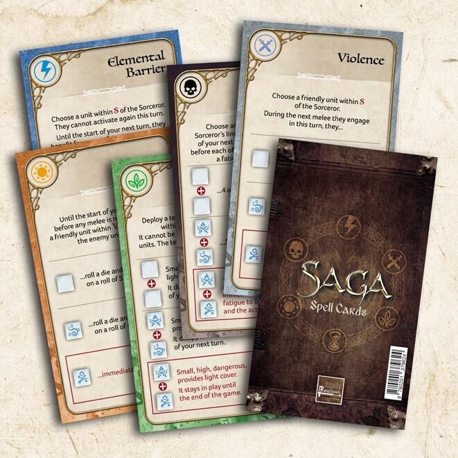 SAGA Age of Magic Spell Cards (36)