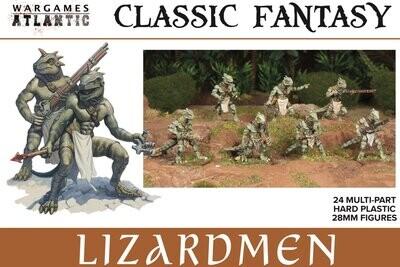Lizardmen - Classic Fantasy - Wargames Atlantic