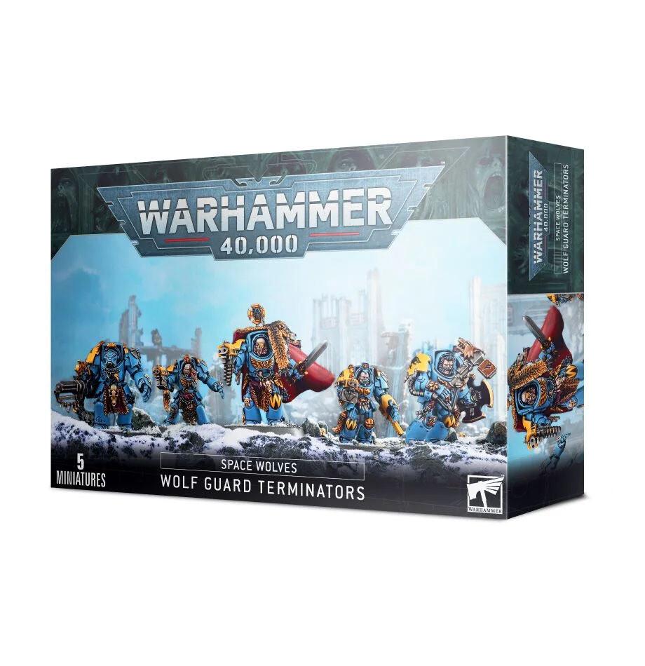 Wolf Guard Terminators Space Wolves - Warhammer 40.000 - Games Workshop