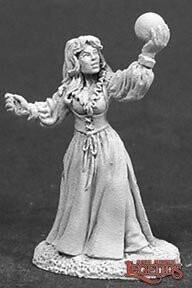 Sarah The Seeress - Reaper Miniatures