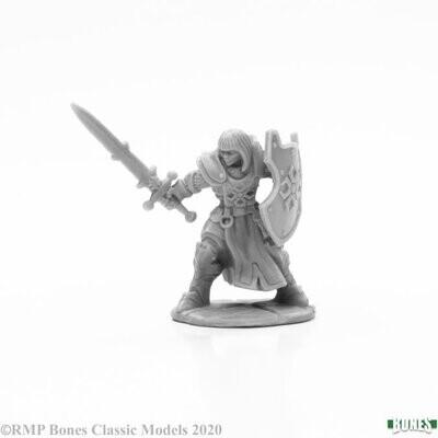 Ava Justinia, Female Templar - Bones - Reaper Miniatures