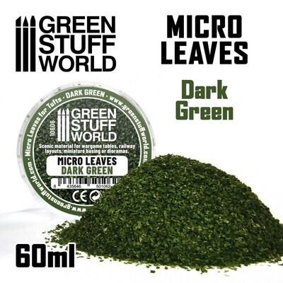 MIKROBLÄTTER - Mix dunkelgrün Micro Leaves Dark Green - Greenstuff World