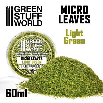 MIKROBLÄTTER - Mix hellgrün Micro Leaves Light Green - Greenstuff World