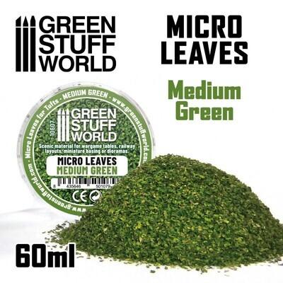 MIKROBLÄTTER - Mittelgrüner Mix Micro Leaves Medium Green - Greenstuff World