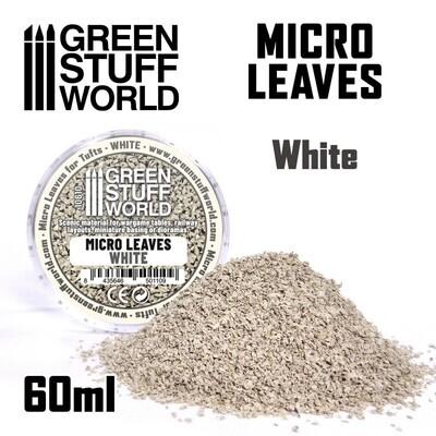 MIKROBLÄTTER - weiß Mix Micro Leaves White - Greenstuff World