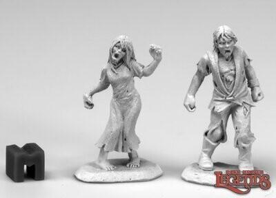 Zombie Teens (2) - Reaper Miniatures