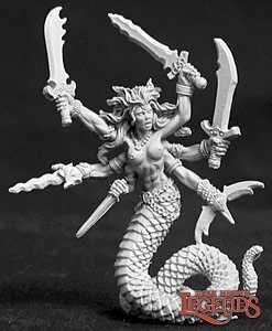 Vandorendra, Snake Demon - Reaper Miniatures