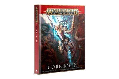 Warhammer AGE OF SIGMAR: CORE BOOK (ENGLISH)  - Games Workshop