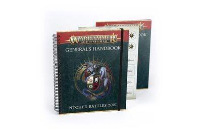 Warhammer Age of Sigmar GENERAL'S HANDBOOK: PITCHED BATTLES '21 EN - Games Workshop
