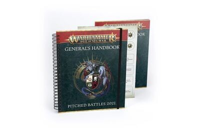 Warhammer Age of Sigmar HANDBUCH/GENERALS: OFFENE FELDSCHLACHTEN  - Games Workshop