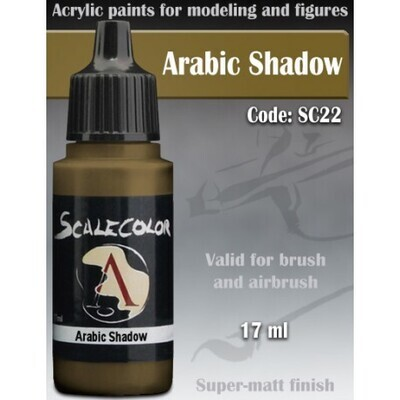 ARABIC SHADOW - Scalecolor - Scale75