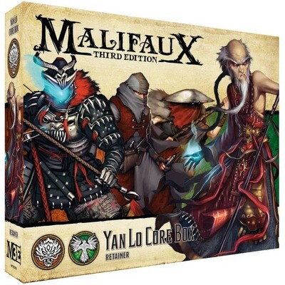 Malifaux 3rd Edition - Yan Lo Core Box - EN - Wyrd