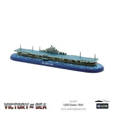 Victory at Sea - USS Essex - Warlord Games