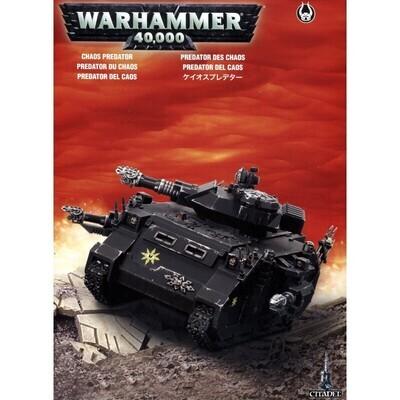 MO: Chaos Predator Chaos Space Marines - Warhammer 40.000 - Games Workshop
