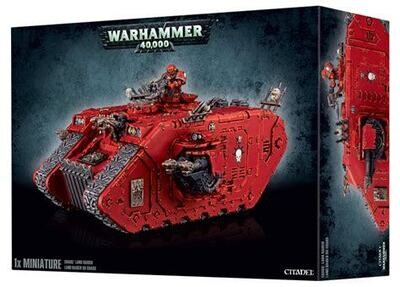 MO: Chaos Land Raider Chaos Space Marines - Warhammer 40.000 - Games Workshop