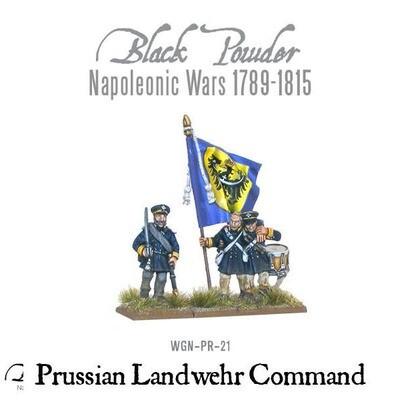 Napoleonic Wars: Prussian Landwehr Command 1789-1815  - Black Powder - Warlord Games