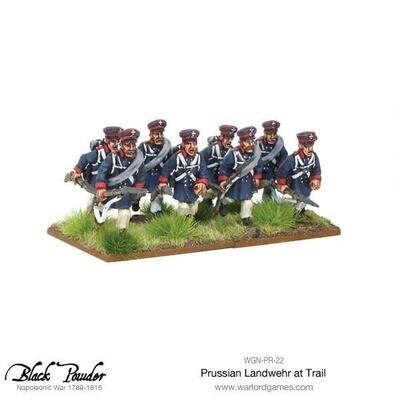 Napoleonic Wars: Prussian Landwehr at Trail 1789-1815  - Black Powder - Warlord Games