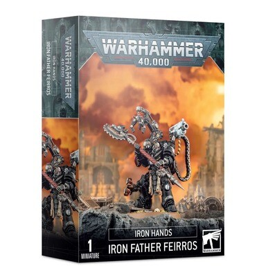 Iron Father Feirros - Warhammer 40.000 - Games Workshop