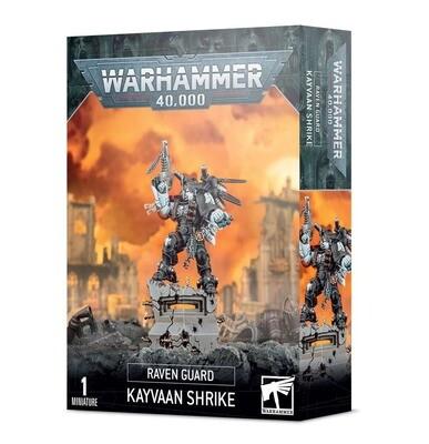 Kayvaan Shrike Raven Guard - Warhammer 40.000 - Games Workshop