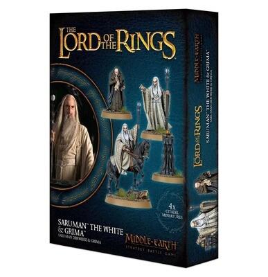 Saruman™ der Weiße & Gríma - Lord of the Rings - Games Workshop