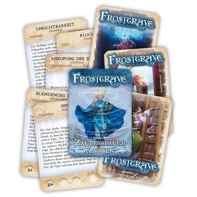 Frostgrave - Zauberkarten Deutsch (2. Edition) - Osprey/Northstar