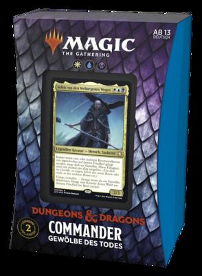 MTG - Abenteuer in den Forgotten Realms Commander Gewölbe des Todes (Deutsch) - Magic
