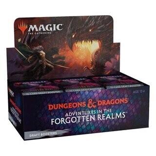 MTG - Adventures in the Forgotten Realms Draft Booster Display (36 Packs) - EN- Magic