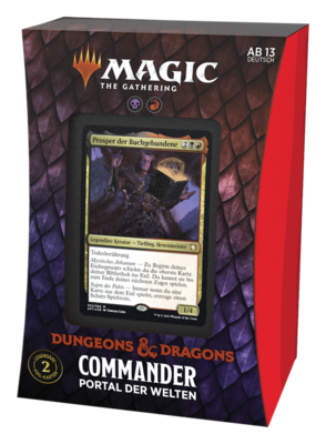 MTG - Abenteuer in den Forgotten Realms Commander Portal der Welten (Deutsch) - Magic