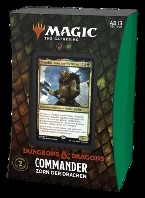 MTG - Abenteuer in den Forgotten Realms Commander Zorn der Drachen (Deutsch) - Magic