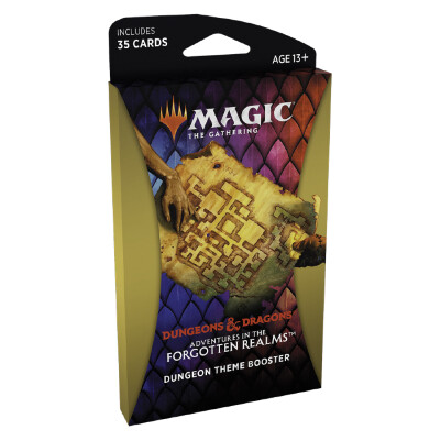 MTG - Magic The Gathering - Adventures in the Forgotten Realms - All 6 Theme Booster (EN)