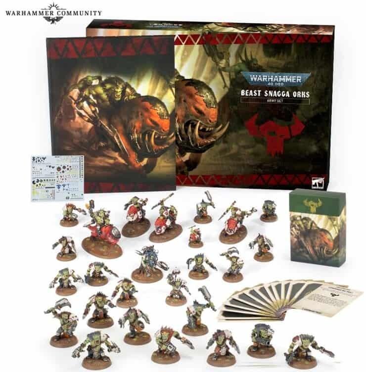 Beast Snagga Orks Army Set (Beastsnagga)