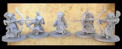 Goblin - Spear - 3D-Druck