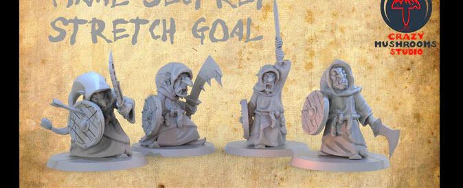 Goblin - Sword - 3D-Druck