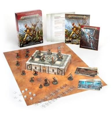 Warhammer Age of Sigmar Warrior Starter Set (Englisch) - Games Workshop