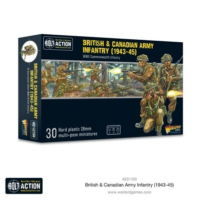 British & Canadian Army infantry (1943-45) - British - Bolt Action