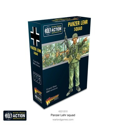 Panzer Lehr Squad - German - Bolt Action - Warlord Games