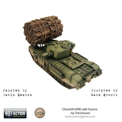 Churchill AVRE with Fascine  - Bolt Action