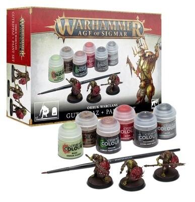 AOS ORRUKS + PAINT SET GER/FRE/ITA/DUT - Warhammer Age of Sigmar - Games Workshop