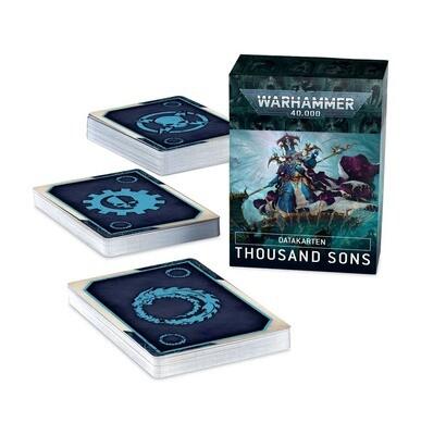 Datakarten: Thousand Sons - Warhammer 40.000 - Games Workshop